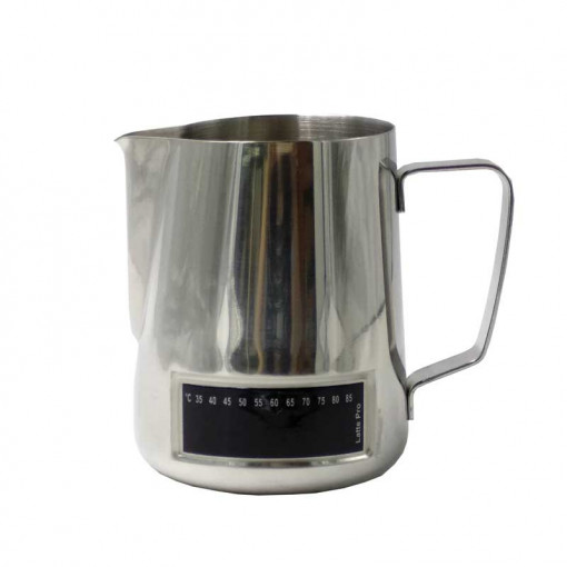 Latte Pro milk pitcher with thermometer
