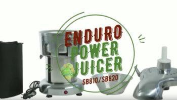 ENDURO power juicer