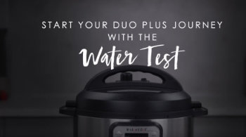 Instant Pot Duo Plus Getting Started
