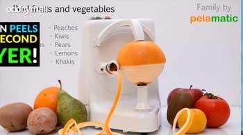 The Pelamatic Is The Perfect Orange Peeler