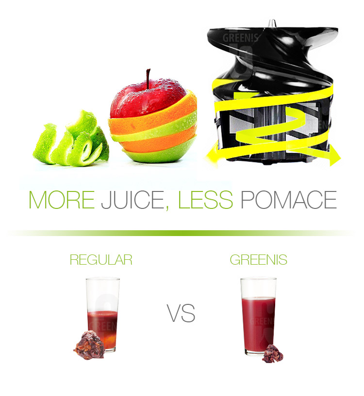 SLIMMY more juice less pomace