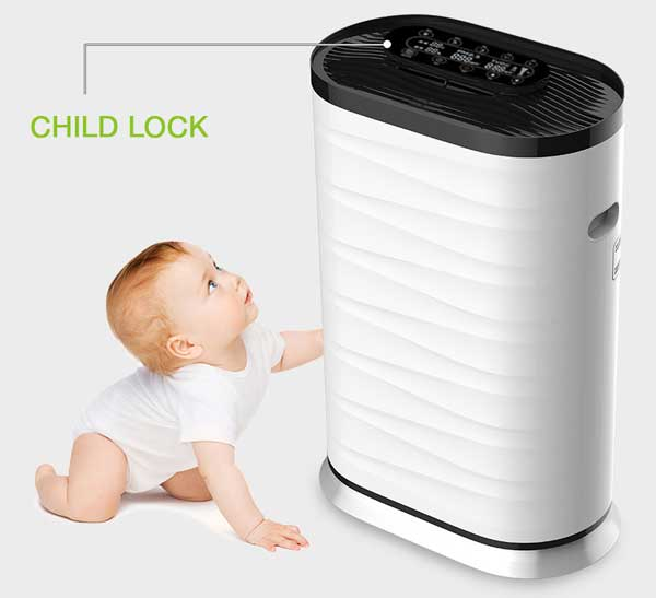 Design of the air purifier