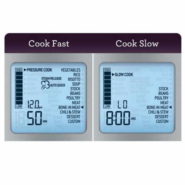Sage slow cooker auto steam